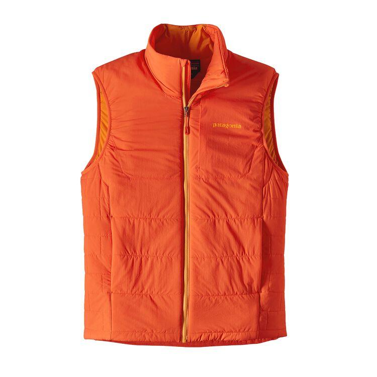 メンズ・ナノエア・ベスト, Campfire Orange (CMPO)