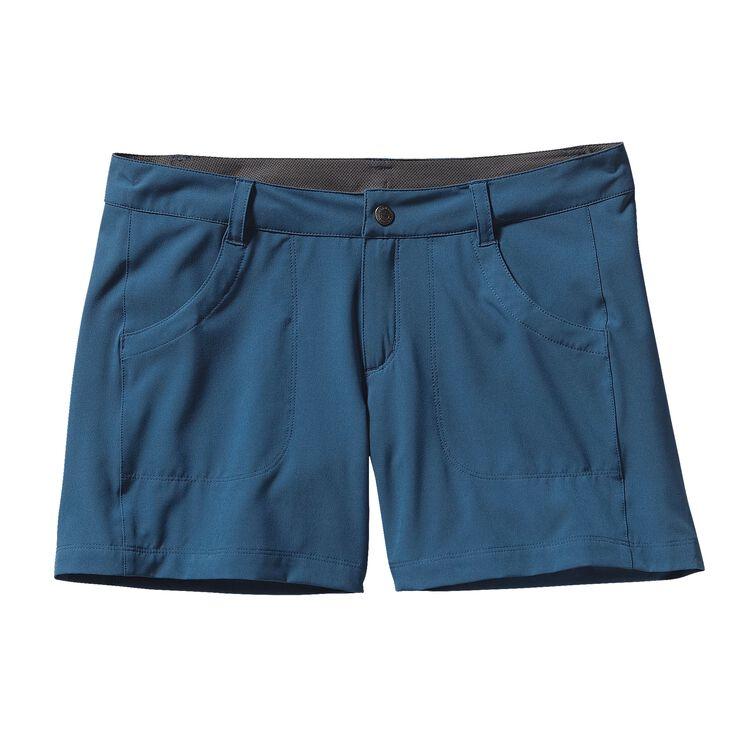 ウィメンズ・ハッピー・ハイク・ショーツ(股下13cm), Glass Blue (GLSB-579)