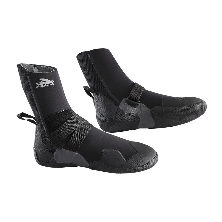 R5 ROUND TOE BOOTIES, Black (BLK)