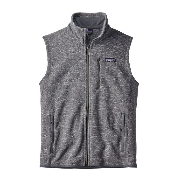 M'S BETTER SWEATER VEST, Nickel (NKL)