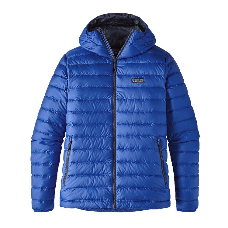 M'S DOWN SWEATER HOODY, Viking Blue (VIK)