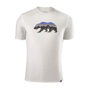 メンズ・キャプリーン・デイリー・グラフィック・Tシャツ, Fitz Roy Bear: White (FBWT)