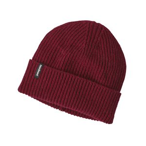 M'S RECYCLED CASHMERE BEANIE, Drumfire Red (DRMF)