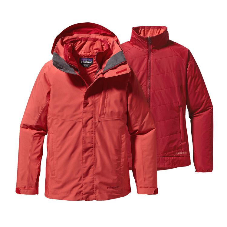 W'S 3-IN-1 SNOWBELLE JKT, Sumac Red (SUMR)