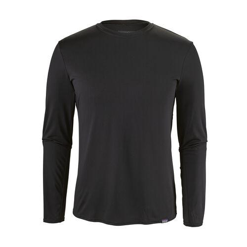 メンズ・キャプリーン・ロングスリーブ・デイリー・Tシャツ, Black (BLK)
