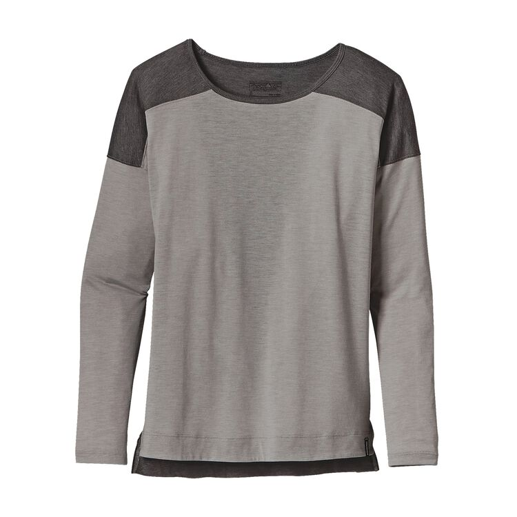 W'S LW L/S LAYERING TOP, Drifter Grey (DFTG)
