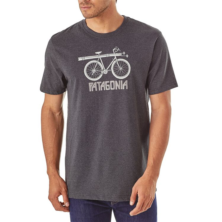 M's Snow Cycle Cotton/Poly Responsibili-Tee® ,