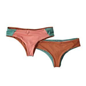 W's Reversible Cutback Bikini Bottoms, Peak Pink (PKPK)