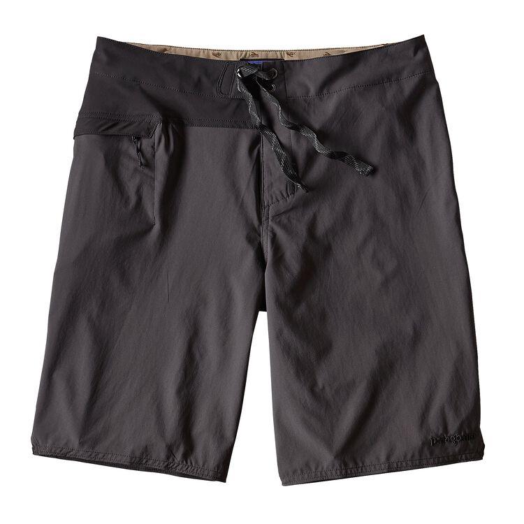メンズ・ストレッチ・ハイドロ・プレーニング・ボードショーツ(53cm), Ink Black (INBK)