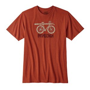 M's Snow Cycle Organic Cotton/Poly Responsibili-Tee®, Roots Red (RTSR)