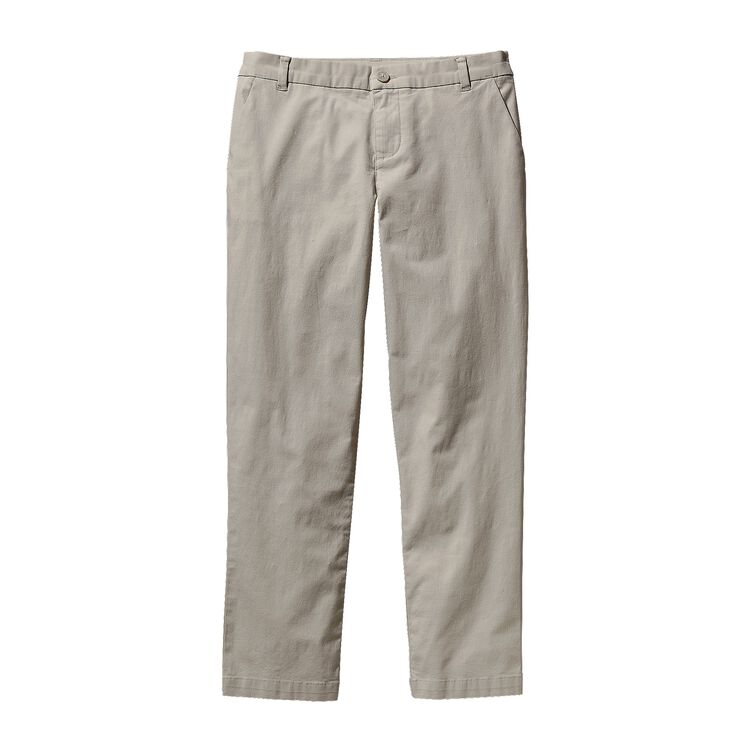 W'S STRETCH ALL-WEAR CAPRIS, Bleached Stone (BLST)