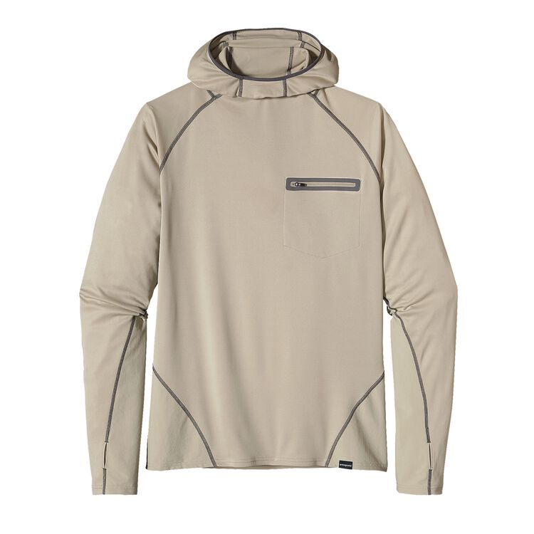M'S SUNSHADE TECHNICAL HOODY, Stone (STN)