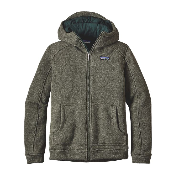 M'S INSULATED BETTER SWEATER HOODY, Industrial Green (INDG)