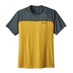 M's Short-Sleeved Windchaser Shirt, Chromatic Yellow (CYL)