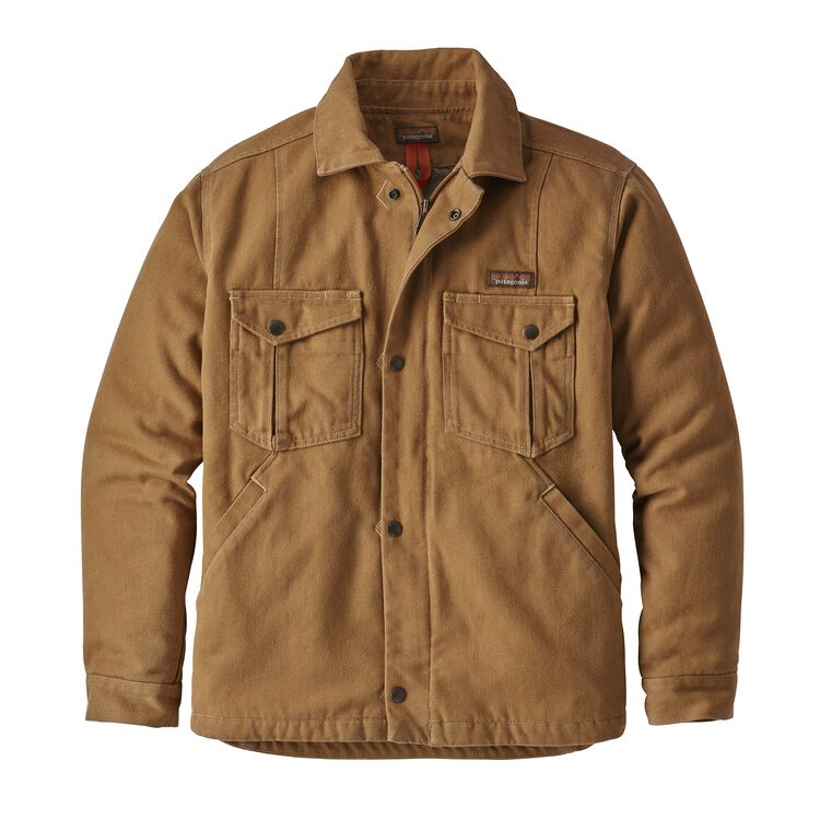 M'S IRON FORGE HEMP CANVAS RANCH JKT, Coriander Brown (COI)