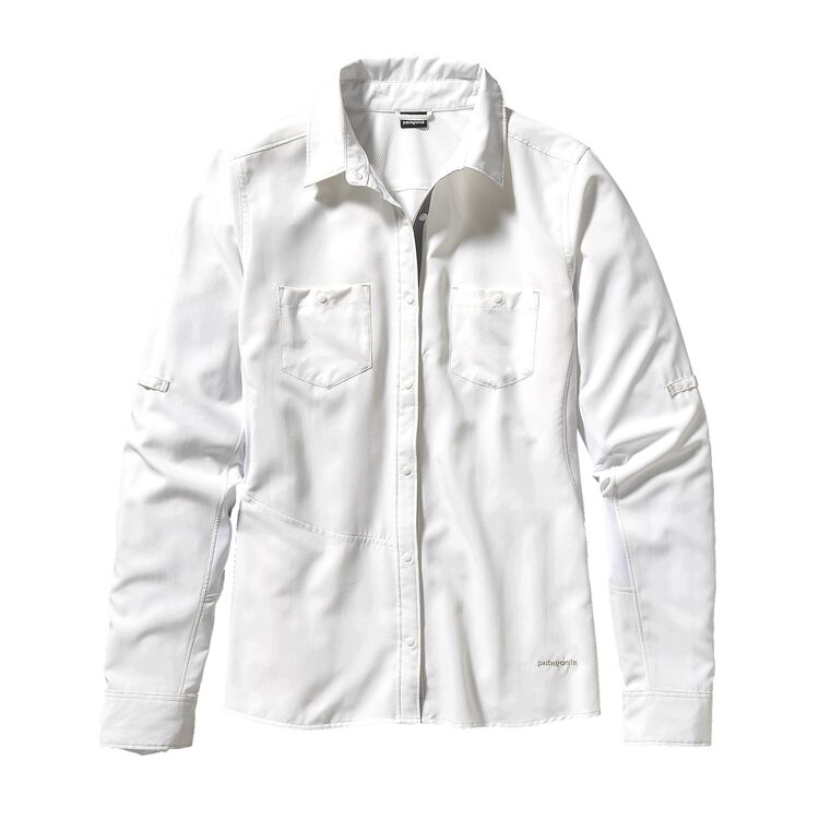W'S L/S SOL PATROL SHIRT, White (WHI-725)