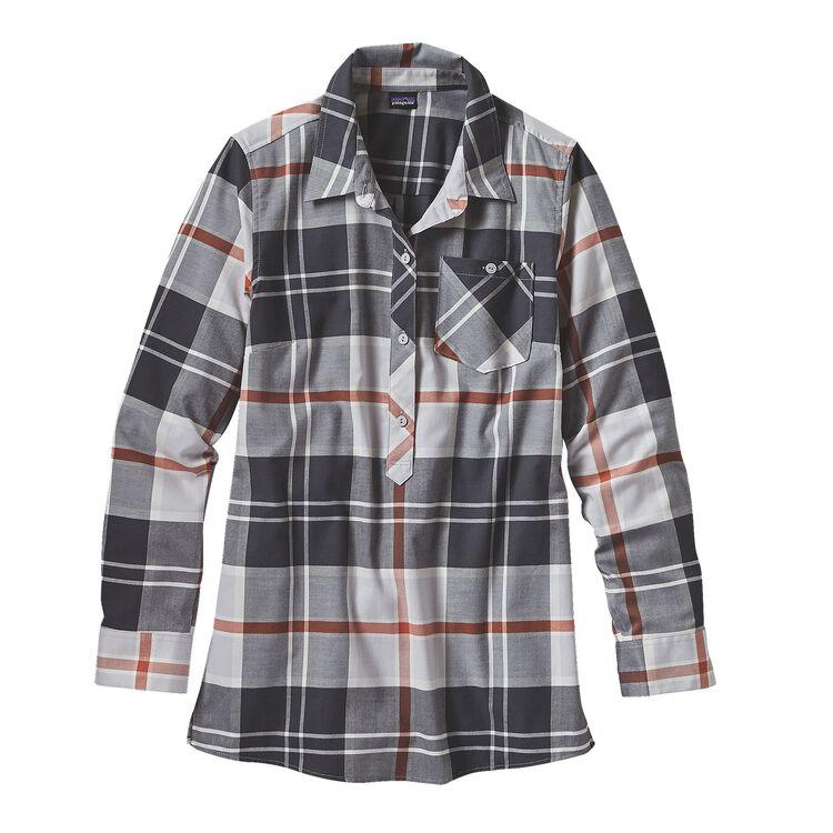 W'S FEATHERSTONE TUNIC, Sugar Pine: Tailored Grey (SPTA)