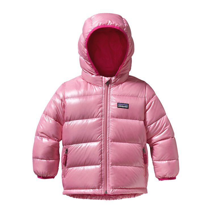 BABY HI-LOFT DOWN SWEATER HOODY, Rosy Posy Pink (RSPK)