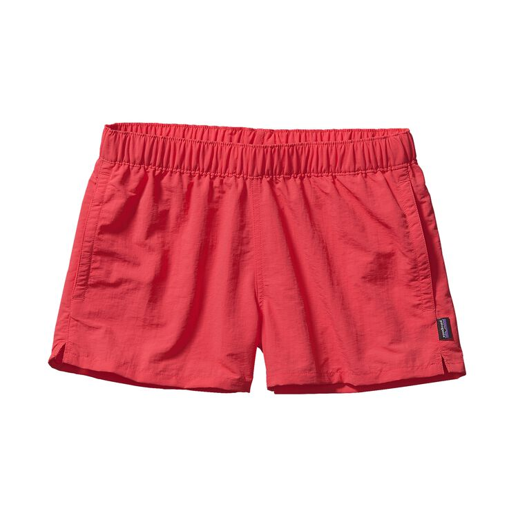W'S BARELY BAGGIES SHORTS, Shock Pink (SHKP)