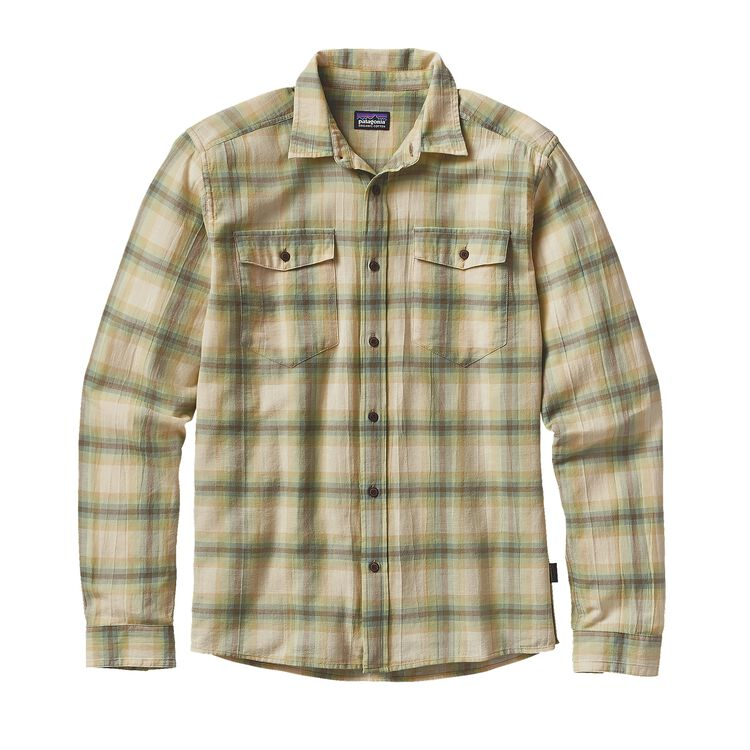 M'S L/S STEERSMAN SHIRT, Hazy: Distilled Green (HZDG)