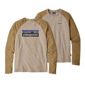 M's P-6 Logo Lightweight Crew Sweatshirt, El Cap Khaki (ELKH)