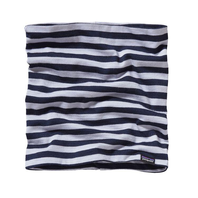 メリノ・ミッドウェイト・ネックゲイター, Pearson Stripe: Tundra Purple/Navy Blue (PTDP)