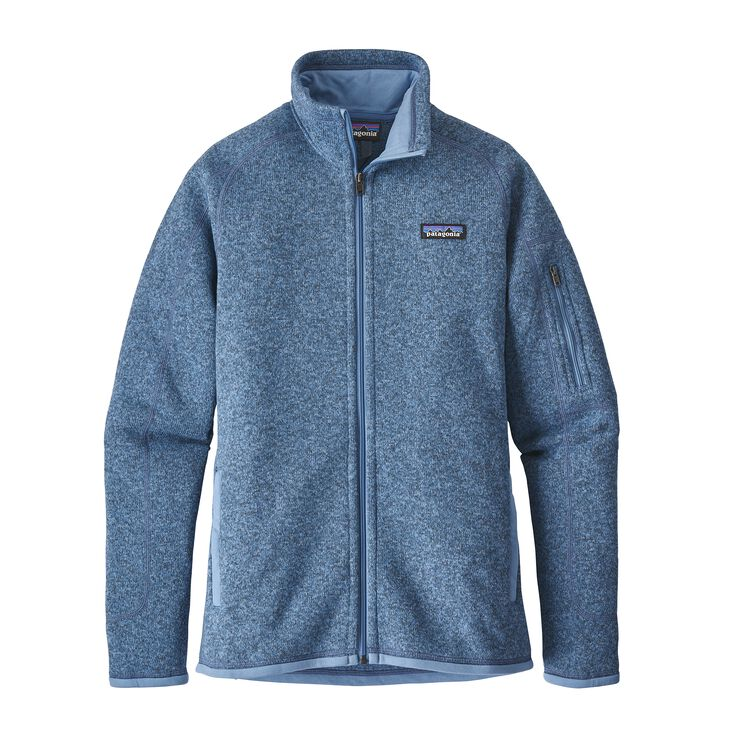 W'S BETTER SWEATER JKT, Railroad Blue (RBE)