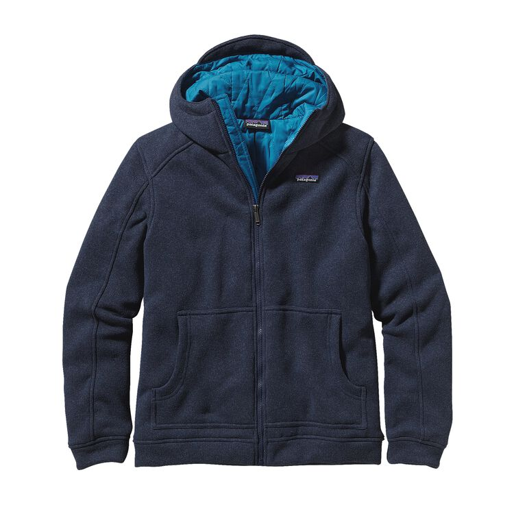 M'S INSULATED BETTER SWEATER HOODY, Classic Navy (CNY)