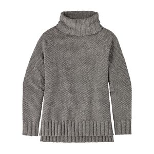 W'S OFF COUNTRY TURTLENECK, Feather Grey (FEA)