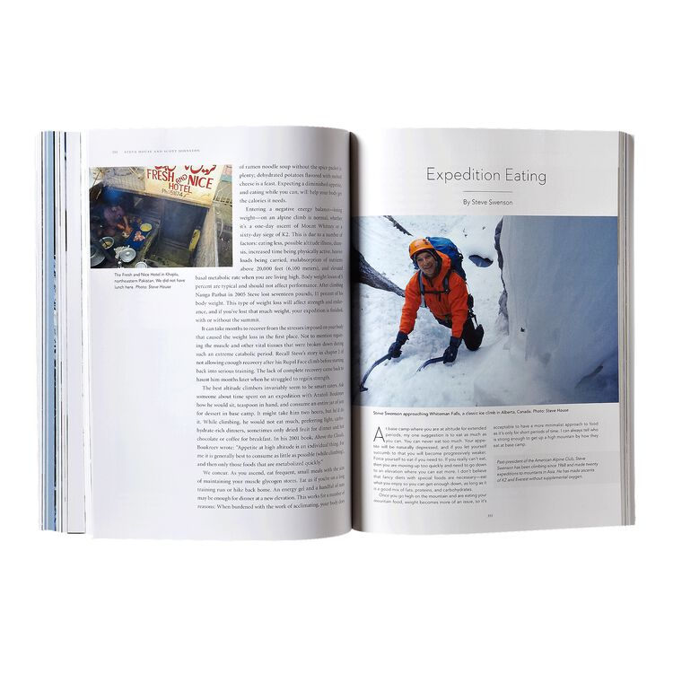 Training for the New Alpinism: A Manual for the Climber as Athlete by Steve House and Scott Johnston (Patagonia published paperback book),