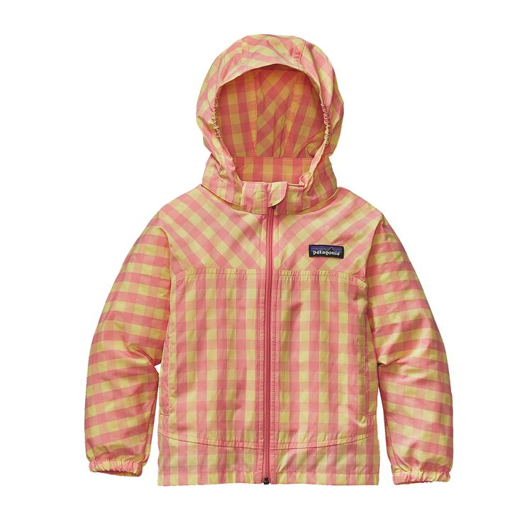 BABY HIGH SUN JKT, Gingham: Pickled Pink (GPIP)