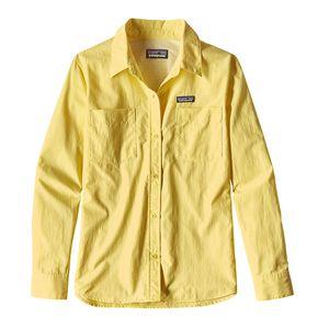 W's Long-Sleeved Anchor Bay Shirt, Yoke Yellow (YKYW)