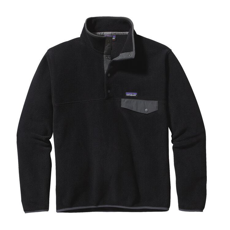 M'S LW SYNCH SNAP-T P/O - EU FIT, Black w/Forge Grey (BFO)