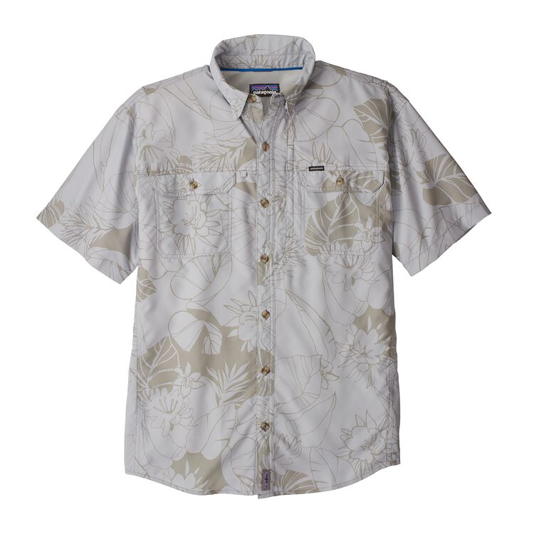 M'S SOL PATROL II SHIRT, Valley Flora: Tailored Grey (VFTA)