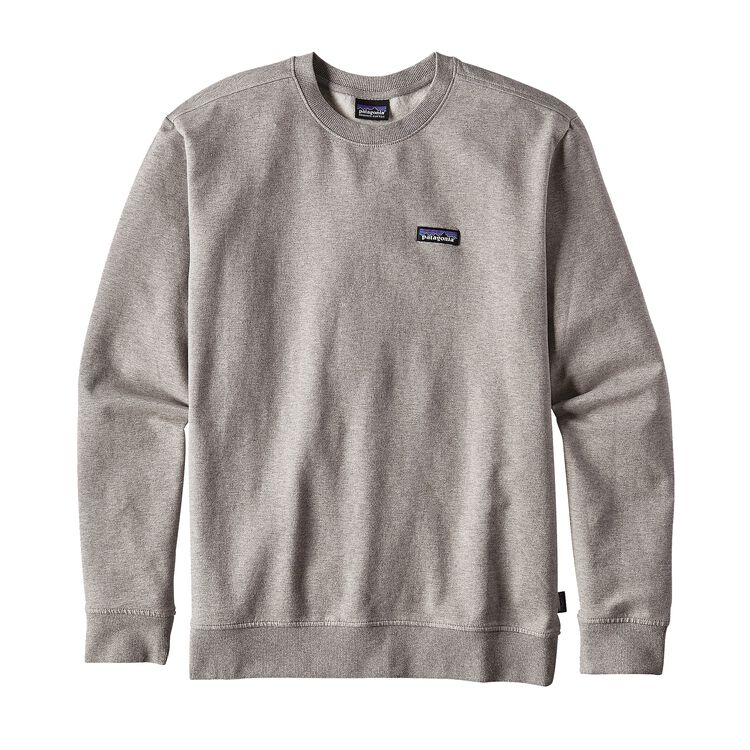 M's P-6 Label Midweight Crew Sweatshirt, Feather Grey (FEA)