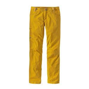 W'S VENGA ROCK PANTS, Sulphur Yellow (SULY)