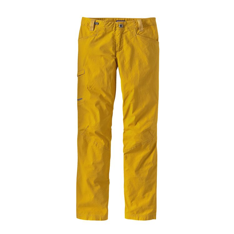 W'S VENGA ROCK PANTS, Sulphur Yellow (SULY)