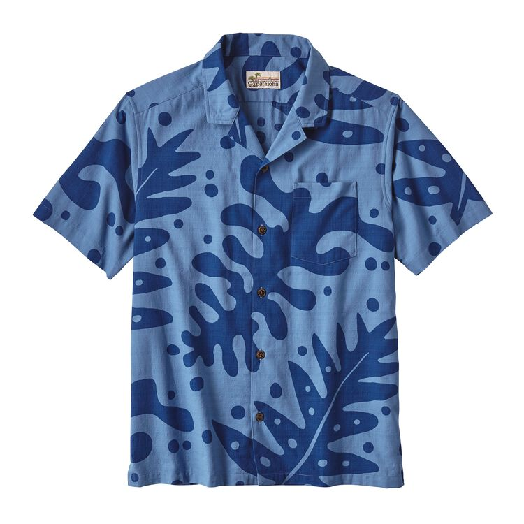 M'S PATALOHA SHIRT, Ferns: Superior Blue (FNSB)