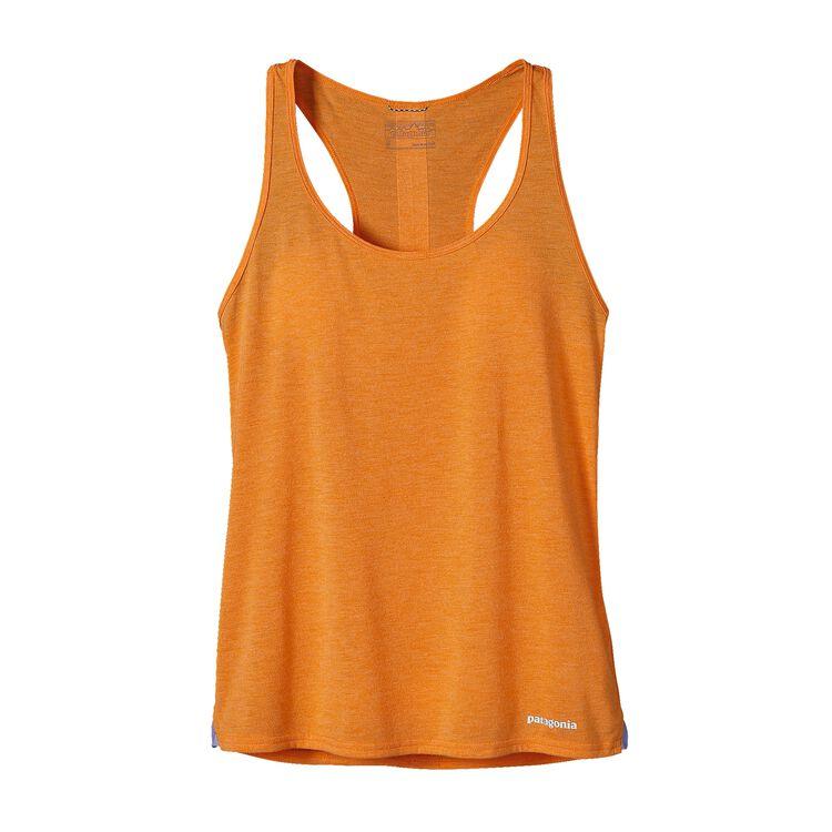 W'S NINE TRAILS TANK, Sporty Orange (SPTO)