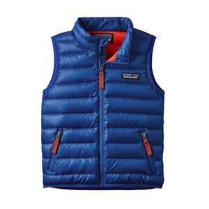 Baby Down Sweater Vest, Viking Blue (VIK)