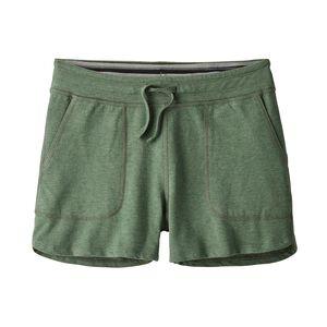 """W's Ahnya Shorts - 3"""", Pesto (PST)"""