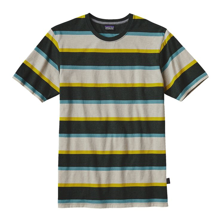 M'S DAILY TEE, Scaler Stripe: Carbon (SSCN)