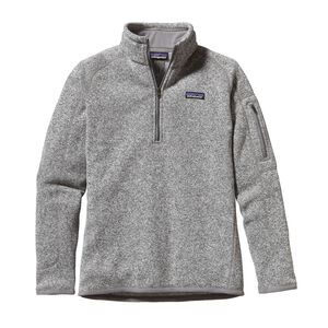 W'S BETTER SWEATER 1/4 ZIP, Birch White (BCW)