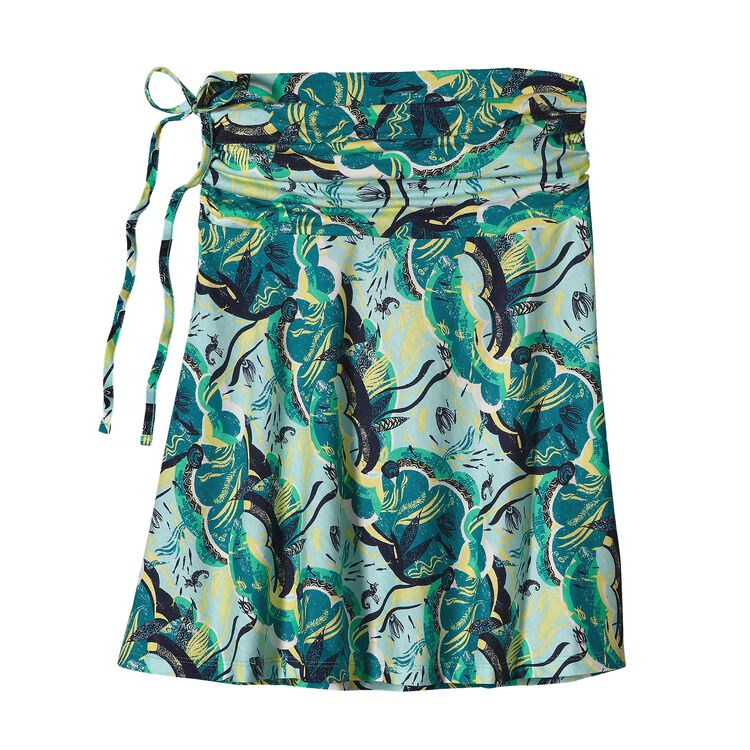 ウィメンズ・リチア・スカート, Deep Sea Skirt: Desert Turquoise (DPTQ-227)