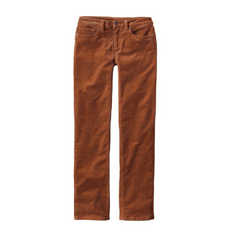 W'S CORDUROY PANTS - REG, Saddle (SDL)