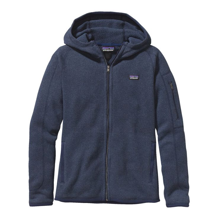 W'S BETTER SWEATER HOODY, Classic Navy (CNY)
