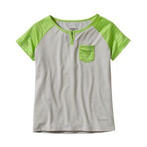 ガールズ・キャプリーン1・シルクウェイト・Tシャツ, Tailored Grey (TGY)