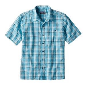 M's Puckerware™ Shirt - Slim Fit, Fluke: Birch White (FKBW)