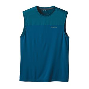 M'S WINDCHASER SLEEVELESS, Big Sur Blue (BSRB)
