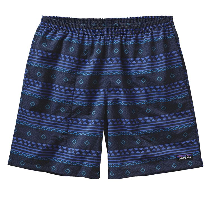 M'S BAGGIES LONGS - 7 IN., Saltillo Small: Navy Blue (SSNB)
